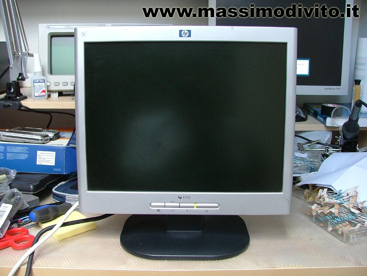 HP1502 Retroilluminazione KO